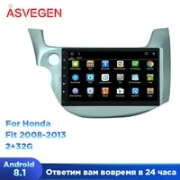 android 8 1 10 1 car multimedia player for honda old fit quad core car radio gps navigatio stereo headunit video player
