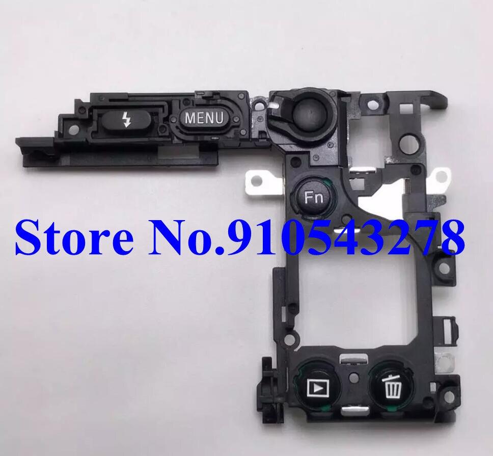 Panel de botones AF/MF interruptor marco ensamblaje para Sony Alpha A6300 A6400...