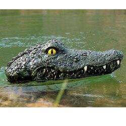 Радиоуправляемая голова крокодила для зачистки водоема от рыбаков-конкурентов.