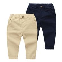 CNUM çocuk Boys pantolon tasarımları streç çocuklar bezi erkek pantolon sonbahar pamuk uzun çizgili yıl pantolon genç erkek okul pantolon