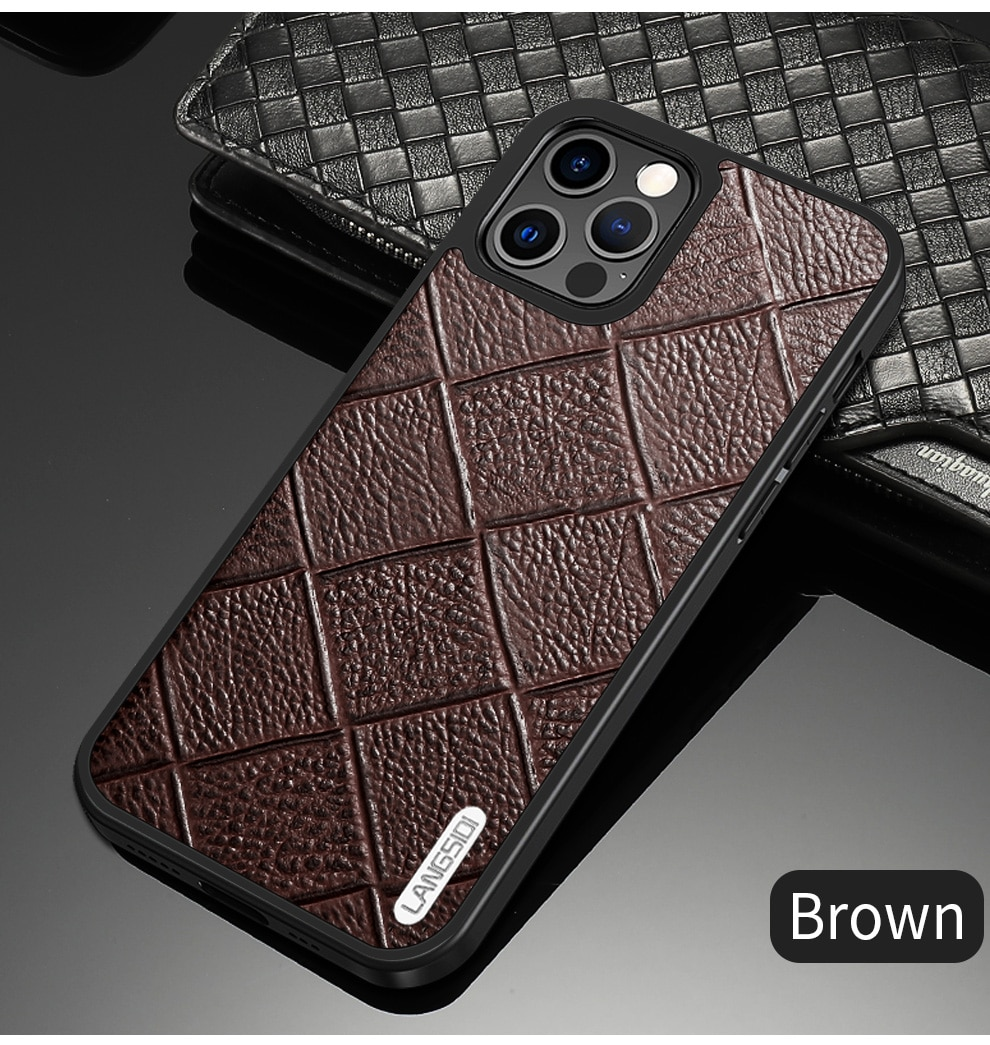 iphone 12 pro max leather case 11