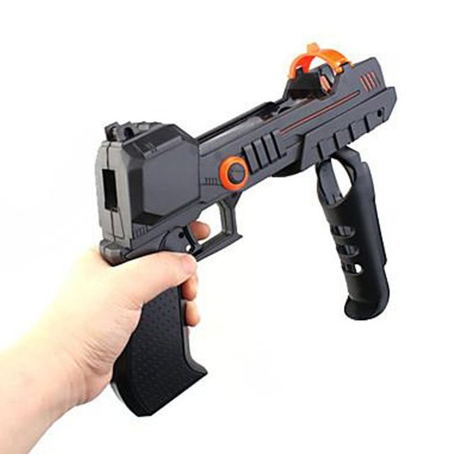 2 in 1 Exquisite Move Shooter Gun Motion Controller Attachment Nav For PS3 For PS4 VR Game Accessories 4