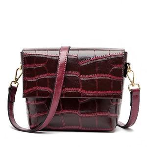 2021 New Small Ladies Flap Bag Luxury Female Trending Handbags Women Bags Alligator Leather Shoulder Bags For Women