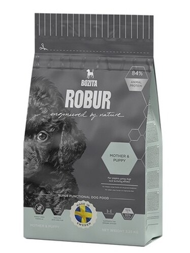 Bozita Robur pour chiots, chiens enceintes et allaitants mère & chiot 14 kg x 1 pc