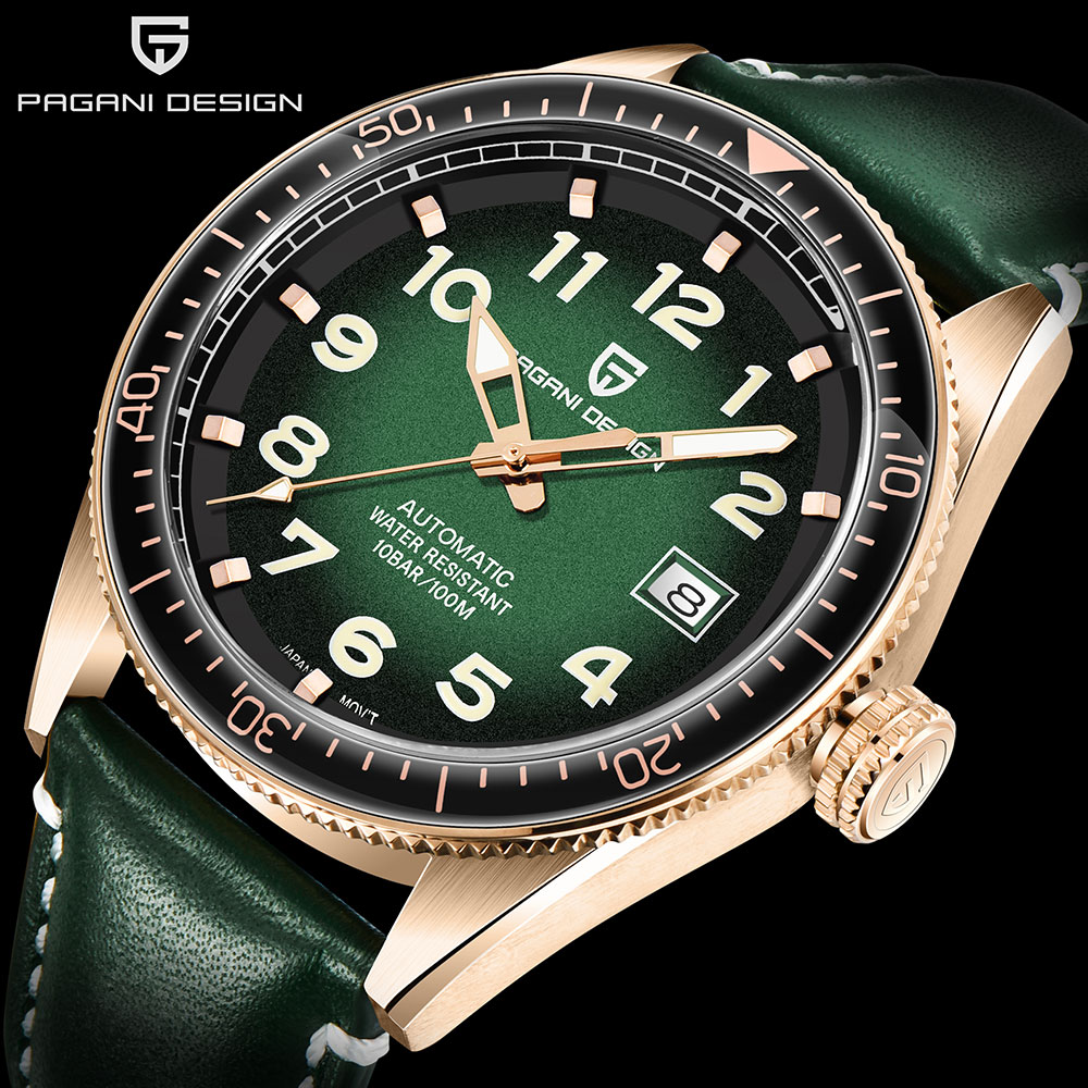 PAGANI Design-ساعة يد رجالية أوتوماتيكية من الستانلس ستيل ، مقاومة للماء ، فاخرة ، رياضية ، أعمال ، ميكانيكية ، 2020
