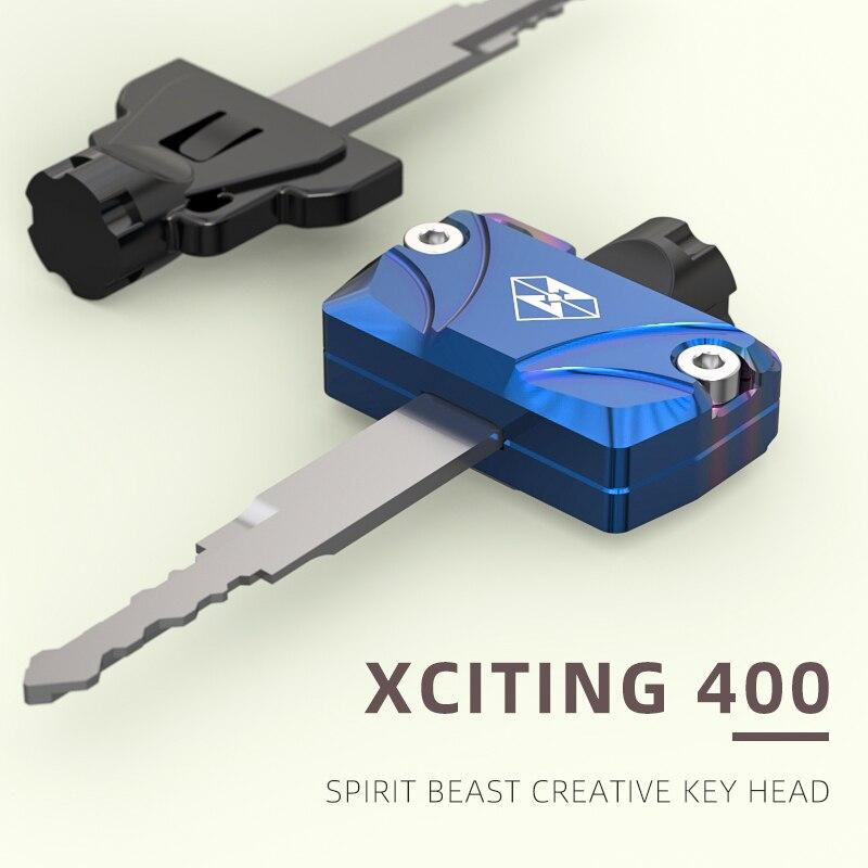 Чехол для ключей от мотоцикла SPIRIT BEAST, чехол из алюминиевого сплава с ЧПУ, аксессуары для Kymco Xciting 400 SuperDink 125, центр города 350