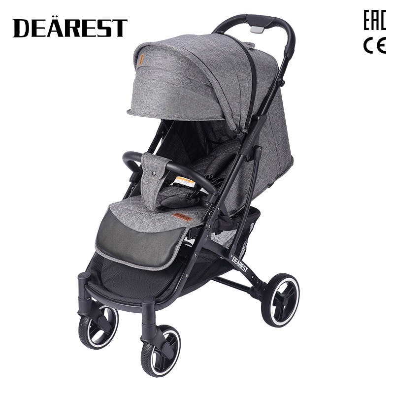 DEAREST 818+ High Landscape Baby Stroller Box Armchair Super Lightweight Folding Cart Four Wheel Shock Absorbers Stroller