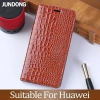 flip case for huawei p10 p20 p30 lite mate 9 10 20 y6 y9 p smart 2019 crocodile texture for honor 8x 7a 9 9x 10 lite phone case