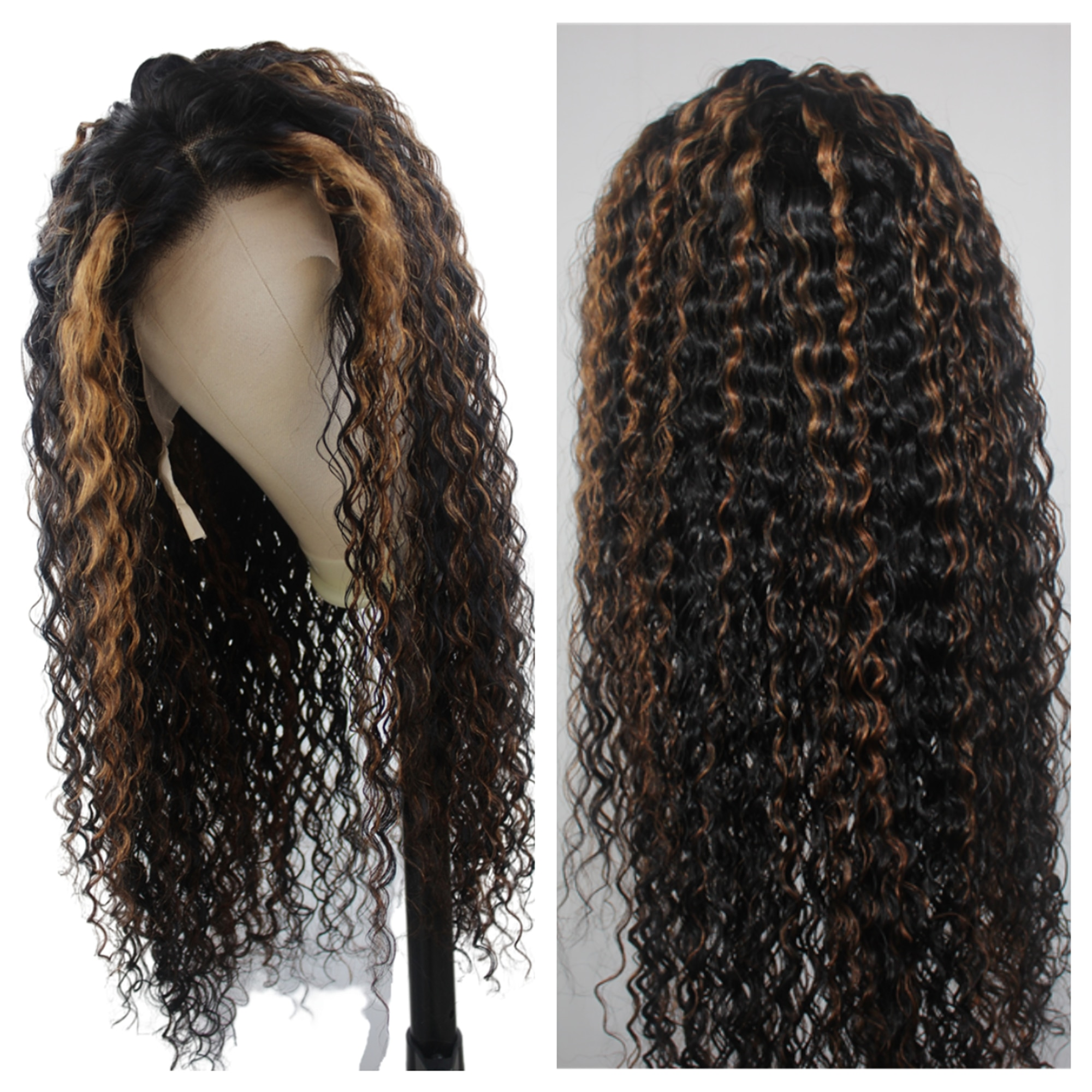 13×1  T Part Transparent Lace Frontal Wigs Virgin Remy Human Hair For Women Mid-Part High Quality Human Hair Wigs Boomluxe Hair