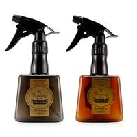 300ml plastic translucent classic fine mist spray bottle adjustable nozzle hairdressing accessories water sprayer for hair salon