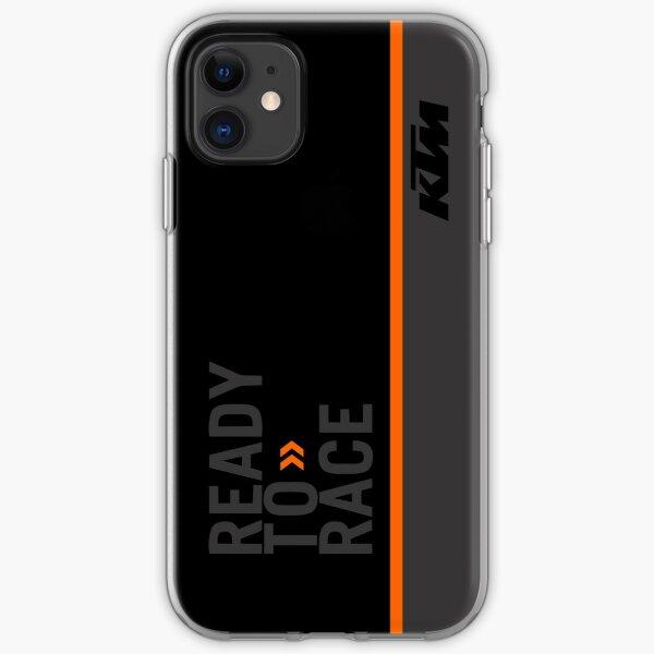 KTM Dark rym Transparent Case For iPhone X XSMAX XR 11 Pro Max case for iPhone 6 6s 5 5s 7plus 8plus iphone 7 8 case