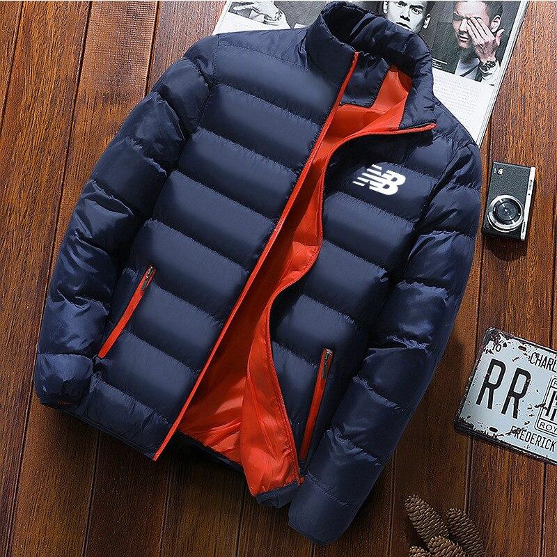 2021 модная мужская зимняя куртка, Мужская куртка на осень/зиму, мужская повседневная куртка, модная мужская куртка с воротником
