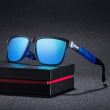 Fashion Wrap Square Frame Retro Decorative Polarized Sunglasses Women Men Versatile Pattern Frame Su