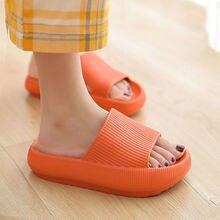 עבה פלטפורמת כפכפים נשים מקורה אמבטיה נעל רך EVA אנטי להחליק אוהבי רצפת בית שקופיות גבירותיי קיץ נעלי SH426