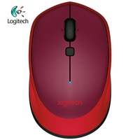 Logitech M336 Беспроводная Bluetooth-совместимая мышь с красочной 1000 точек/дюйм для Windows 7/8/10 Mac10.8 Chrome OS Android 3,2