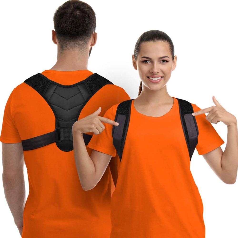 Brace Support Belt Adjustable Back Posture Corrector Clavicle Spine Back Shoulder Lumbar Posture Humpback Correction Belt