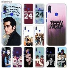 Teen Wolf Stilinski 24 Phone Cases for Xiaomi Redmi Note 6 7 8 9 Pro 8T 9S 6A 7A 8A K20 Pro K30 5G Hard Cover Capa
