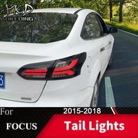tail lamp for car ford focus 2015 2018 focus sedan led tail lights fog lights daytime running lights drl tuning cars accessories