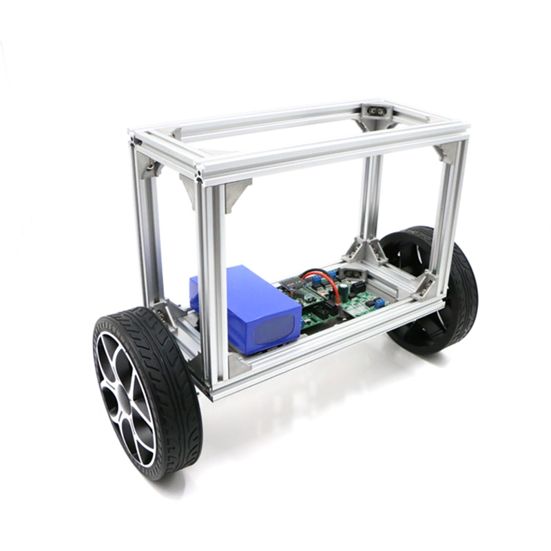 Two wheel automatic balancing vehicle of two wheel balancing robot with large load