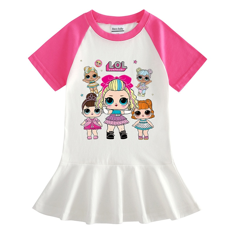 L. O.l vestidos infantiles para niñas vestido de verano para niñas vestido de niña vestidos infantiles para niñas traje nuevo