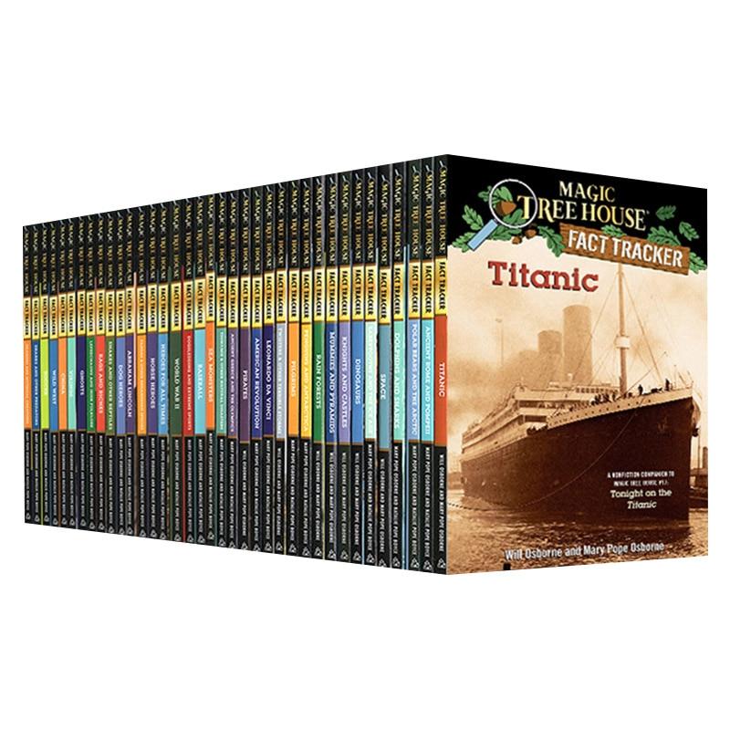 37 Books/Set Magic Tree House Fact Tracker Original English Reading Children's Books english house пиджак