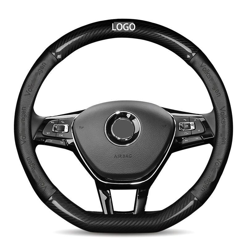 Volante del coche ruedas cubierta 37 38cm para Volkswagen VW Ameo Arteon/CC...