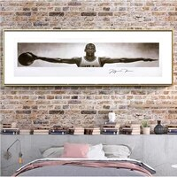 basketball star michael jordan poster star mvp wall art canvas pictures living room study painting home decoration murals