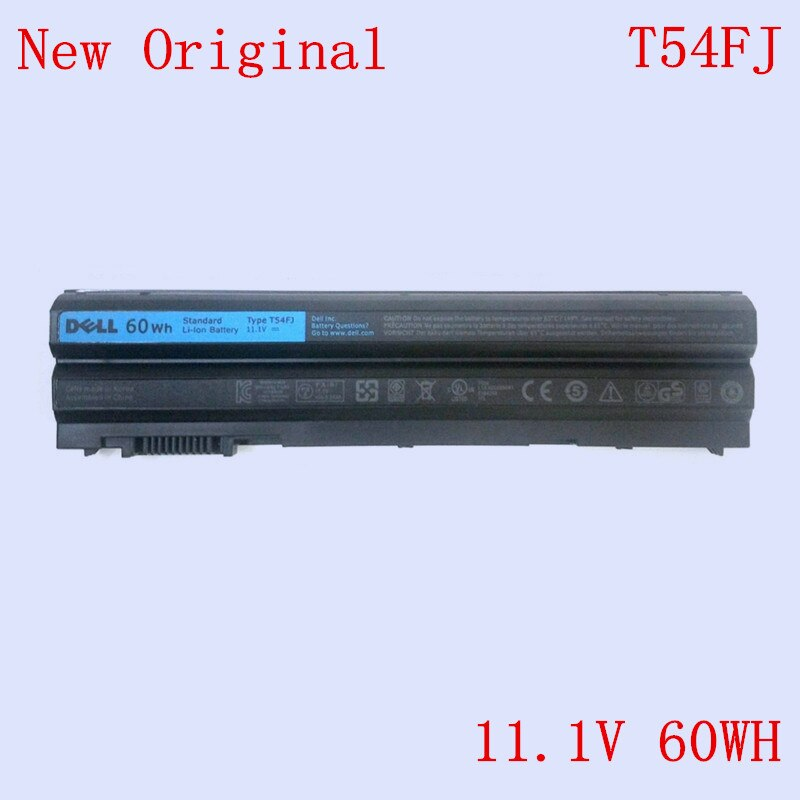 جديد محمول استبدال ليثيوم أيون بطارية T54FJ لديل خط العرض E5520 E5530 E6520 E6430 E6440 E6530 E6540 سلسلة 5500mAh 65WH