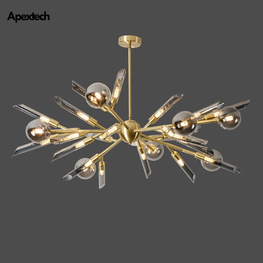 Modern Nordic LED Chandelier Ceiling Hanging Lamp Living Room Bedroom Lighting Fixtures Home Decorations lights