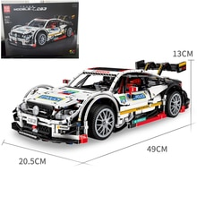 DHL IN STOCK 13075 AMG C63 Technic Benzs MOC 6687 6688 Racing Car Model kit Building Blocks Bricks Toys For Children DIY Gifts