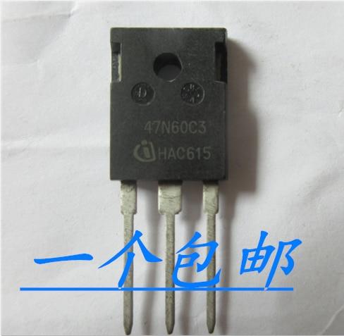 10pcs 47N60C3 SPW47N60C3 MOS 47A/650V  TO-247   Original New 1 order