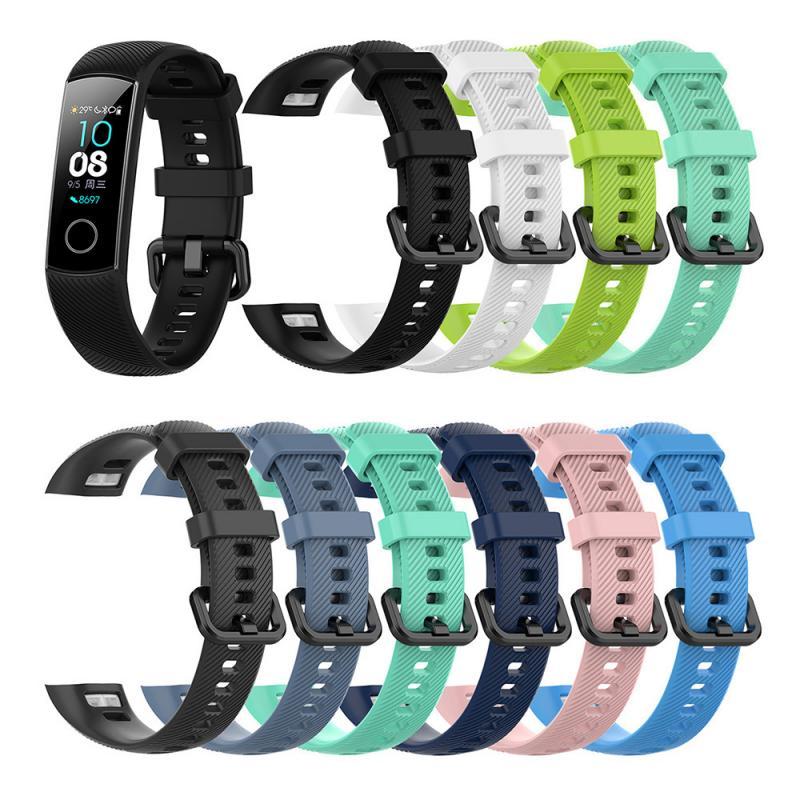 Correa para Huawei Honor Band 4, pulsera de silicona de repuesto para Huawei Honor Band 4, correa de reloj deportiva resistente al agua