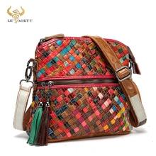 Soft Leather Women Patchwork Female Luxury Famous Brand Designer Purse And Handbag Fashion Colorful
