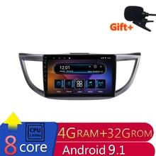 "10.1"" 4G RAM 8 cores Android Car DVD GPS Navigation For HONDA CRV 2012 2013 2014 2015 2016 audio stereo car radio headunit wifi"