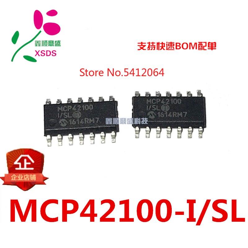 5 PÇS/LOTE MCP42100-I/SL SOP14