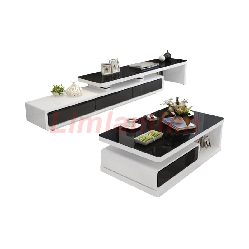 Linlamlim-mesa de centro para salón de belleza, Aparador bufé, eat edge, soporte...