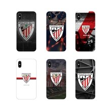 For Apple iPhone X XR XS 11Pro MAX 4S 5S 5C SE 6S 7 8 Plus ipod touch 5 6 Athletic Bilbao Logo Acces