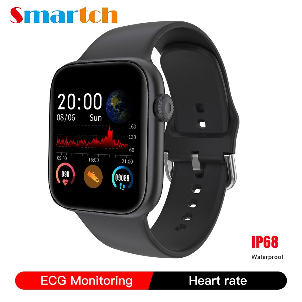 SE03 ECG / EKG smartwatch Full Touch Screen Heart Rate Monitor Fitness Tracker Sport Smart Watch For IOS and Android Wristband
