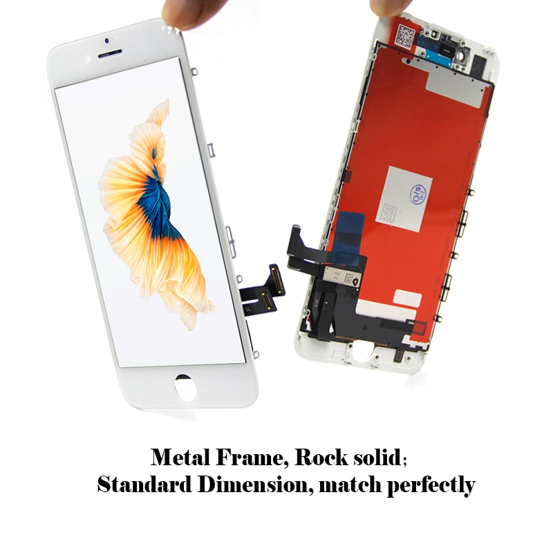 5 PCS Replacement For iPhone 7 LCD Display touch screen digitizer compatible with 4.7 inch mobile phone Ecran Pantalla lcd enlarge