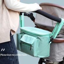 Kinderwagen Bag Organizer Bag Nappy Luier Mummie Zak Mama Vervoer Buggy Kinderwagen Winkelwagen Mand Haak Kinderwagen Accessoires