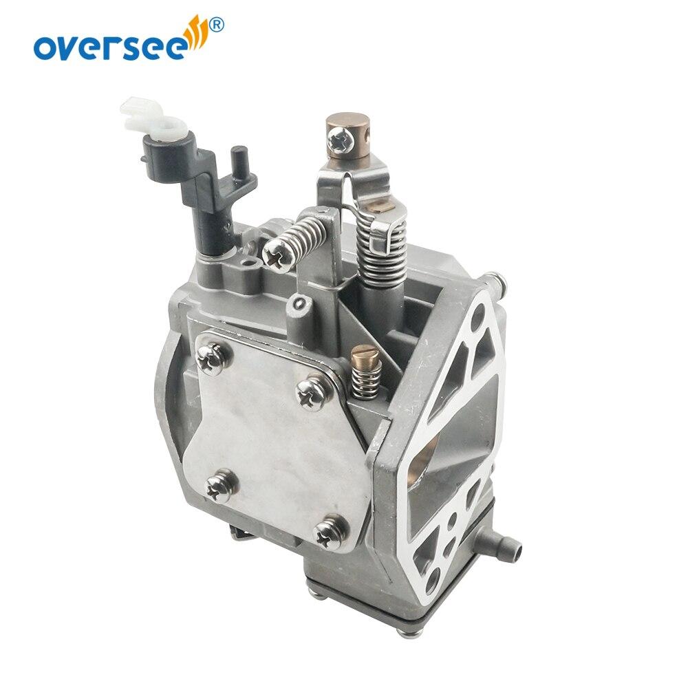 63V-14301 Outboard Carburetor For Yamaha 9.9HP 15HP 2T Outboard Motors  63V-14301-00 63V-14301-10 enlarge