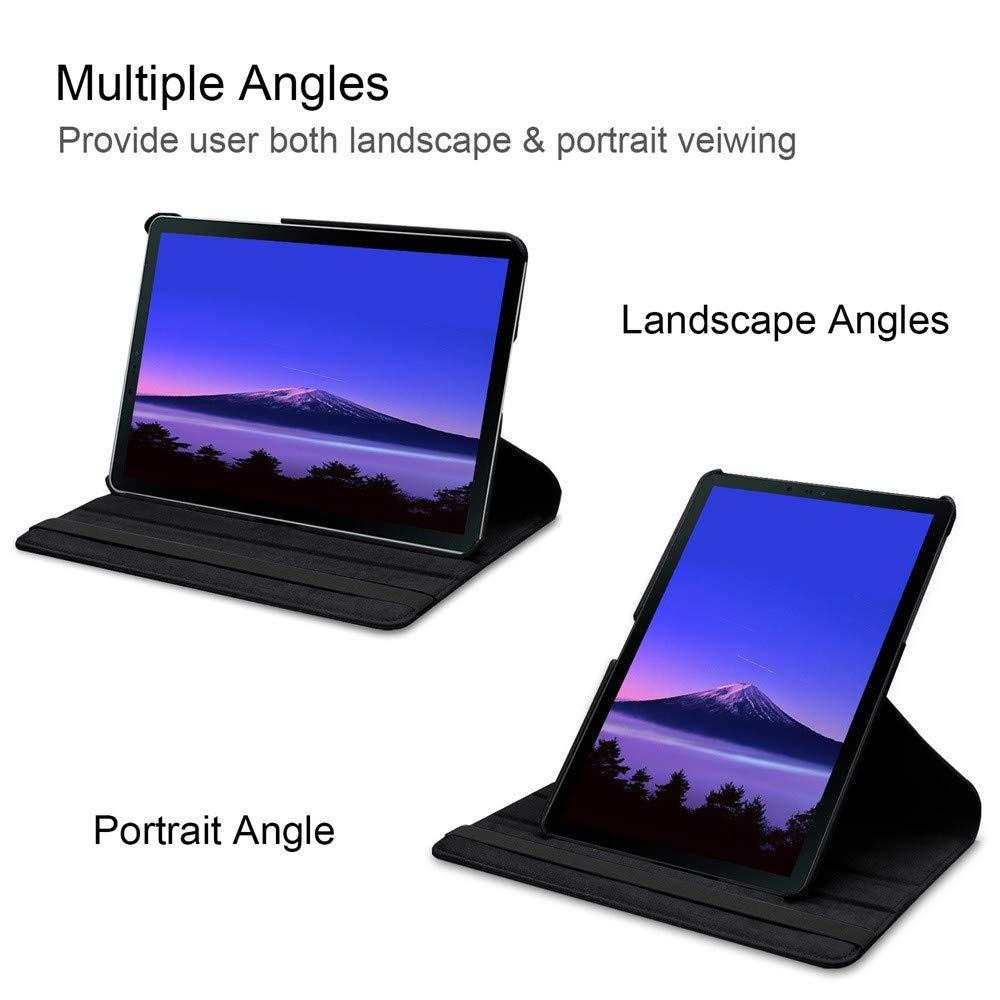 Чехол для планшета Samsung Galaxy Tab S4 10,5 дюйма T830 T835, вращающийся противоударный пылезащитный чехол подставка из искусственной кожи, защитный чехол Чехлы для планшетов и электронных книг      АлиЭкспресс