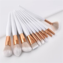 1Pc Flame Top Tapered Makeup Brush High Quality Foundation Powder Contour Highlighter Blending Cosme