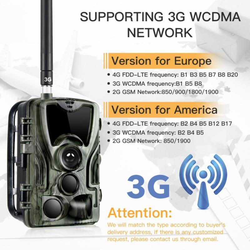 HC-801G 3g caça câmera 16mp trail câmera sms/mms/smtp ip66 foto armadilhas 0.3s gatilho tempo câmera armadilha caça câmera