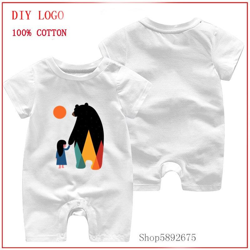 0-24m roupas recém-nascidos go_home_1 verão macacão bebê bonito roupas para a criança meninas meninos macacão de algodão outfits
