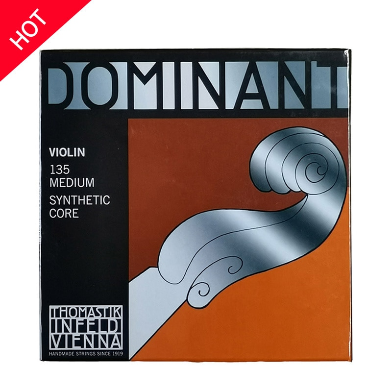 Free Shipping Thomastik Dominant 135B 135 Medium Violin Strings 4/4 Strings Full Set G D A E Strings