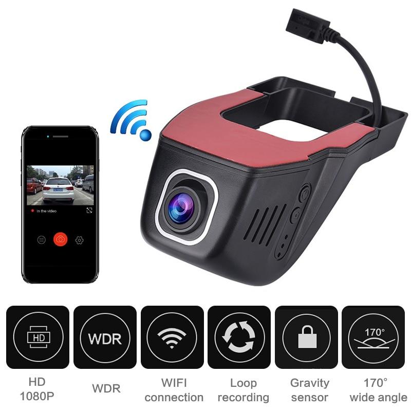 Новый Скрытый Автомобильный видеорегистратор, видеорегистратор с Wi-Fi, видеорегистратор 1080P Full HD, Автомобильный видеорегистратор, Автомобил...
