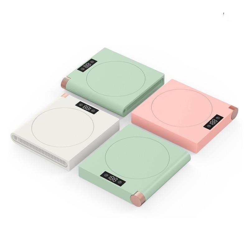 Porta-copos de Aquecimento Display Digital Termostato Coaster 5 – Gear Aquecimento Lembrete Inteligente Isolamento Usb Led