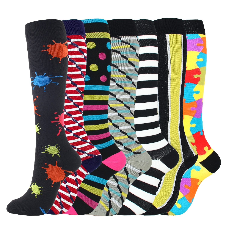 Компрессионные чулки, женские чулки, спортивные носки, компрессионные чулки для медсестер и мужчин, носки от варикозного расширения вен и о...