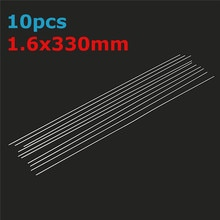 10/20/30/50 Pcs Per Set 1.6x330mm Aluminum Alloy Silver Welding Solder Soldering Tools Brazing Wire Solder TIG Filler Rods